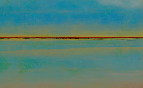 "Digital Image of ""Winter Lake Day"""