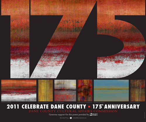 Image of 2011 Dane County Cultural Affairs Commission Art Poster