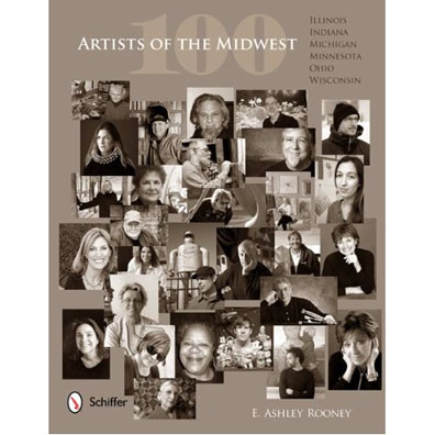 "Web Image of ""100 Artists of the Midwest"" Book Cover"