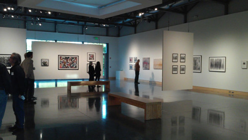 View of Photo Op exhibit at Laura H. Miles Gallery at Minnetonka Center for the Arts, October 2015